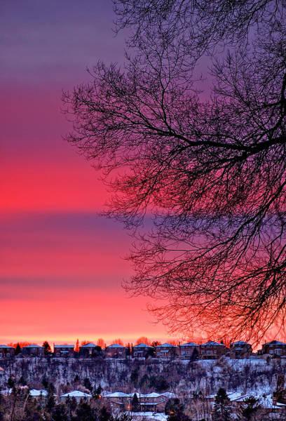Bolton Photograph - Bolton Sunset by Steve Harrington