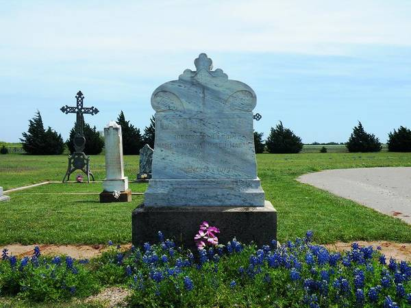 Photograph - Bomarton Catholic Cemetery 6 by The GYPSY