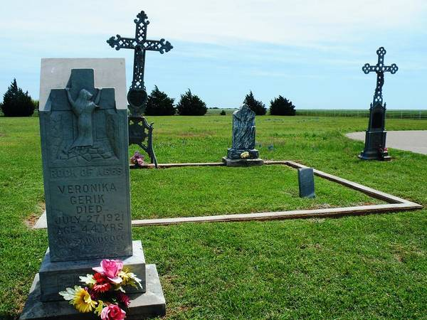 Photograph - Bomarton Catholic Cemetery 7 by The GYPSY