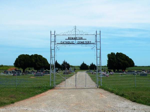 Photograph - Bomarton Catholic Cemetery 1 by The GYPSY