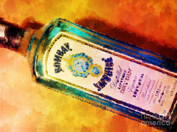 Tonic Photograph - Bombay Sapphire by Mary Machare