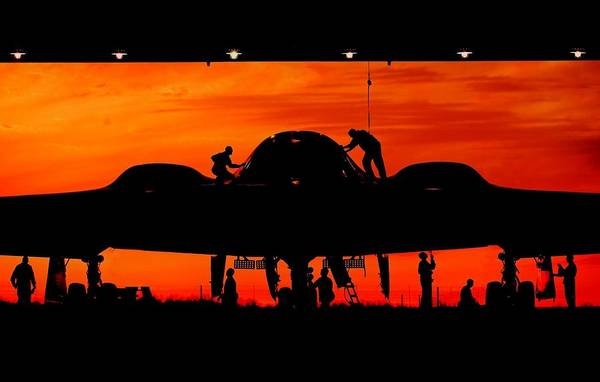 National Guard Photograph - Bomber Prep by Benjamin Yeager