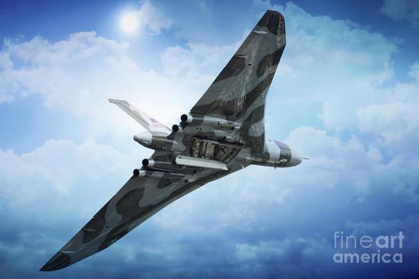 Vulcan Xh558 Wall Art - Digital Art - Bombs Gone by J Biggadike
