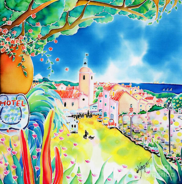 Painting - Bon Dimanche by Hisayo Ohta