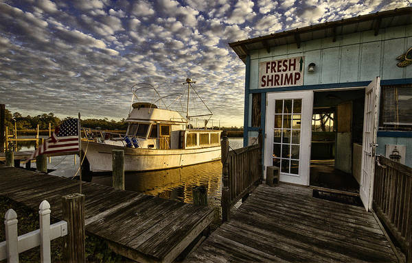 Photograph - Bon Secour Fish Shop by Michael Thomas