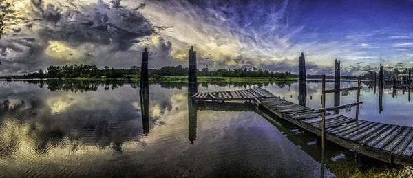 Digital Art - Bon Secour Panorama by Michael Thomas