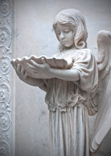 Photograph - Bonaventure Angel by Carol Erikson