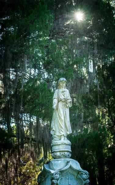 Famous Cemeteries Photograph - Bonaventure Angel by Mark Andrew Thomas