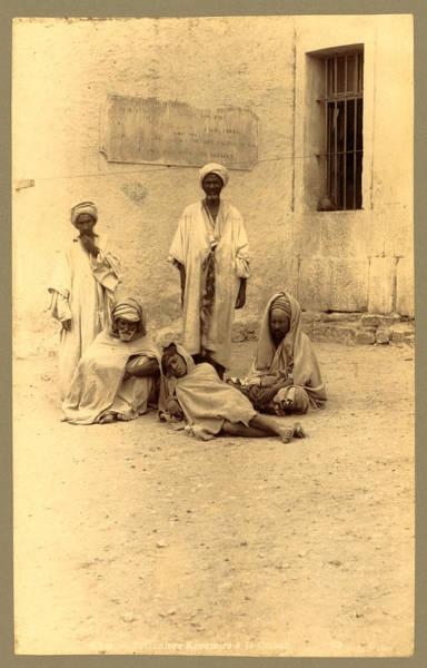 Casbah Photograph - Bone, Prisoners Kroumirs á The Casbah, Algiers, Neurdein by Litz Collection