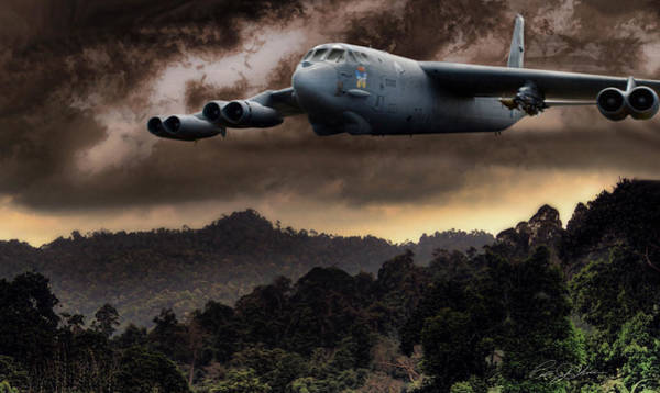 United States Air Force Digital Art - Bone Shaker by Peter Chilelli
