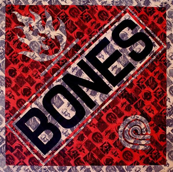 Bones Art Print by Brent Andrew Doty