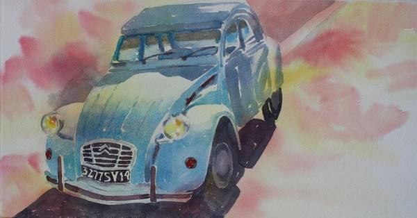 Painting - Bonjour Citreon by Tara Moorman