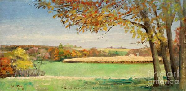 Bonjour Lands In Apple River Jo Daviess County Art Print