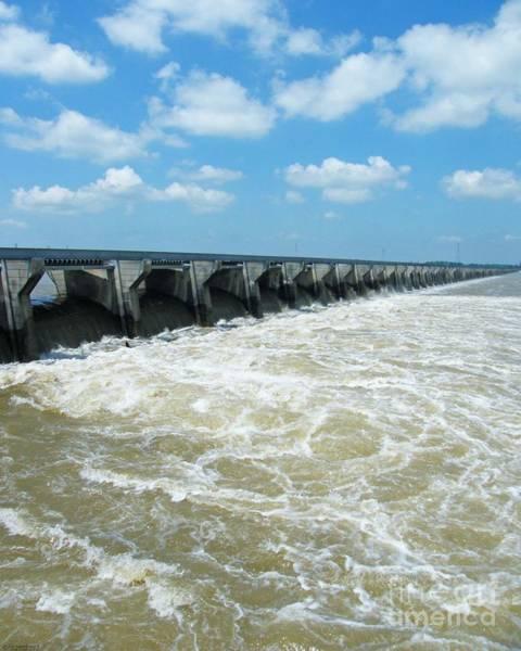 Photograph - Bonnet Carre Spillway Opens 2011 Louisiana by Lizi Beard-Ward