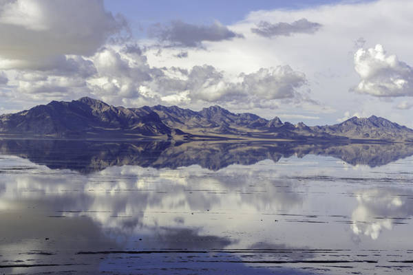 Photograph - Bonneville Salt Flats by Susan Leonard