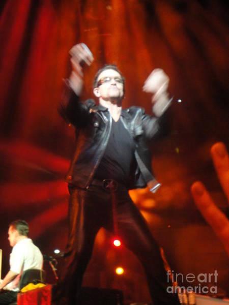 U2 Photograph - Bono by Tara Nightingale
