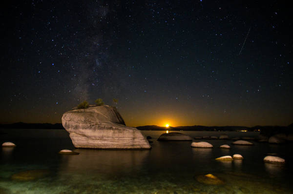 Wall Art - Photograph - Bonsai Rock Lake Tahoe by Scott McGuire