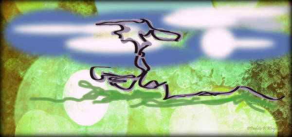 Bonsai Tree Digital Art - Bonsai Tree by Paulette B Wright