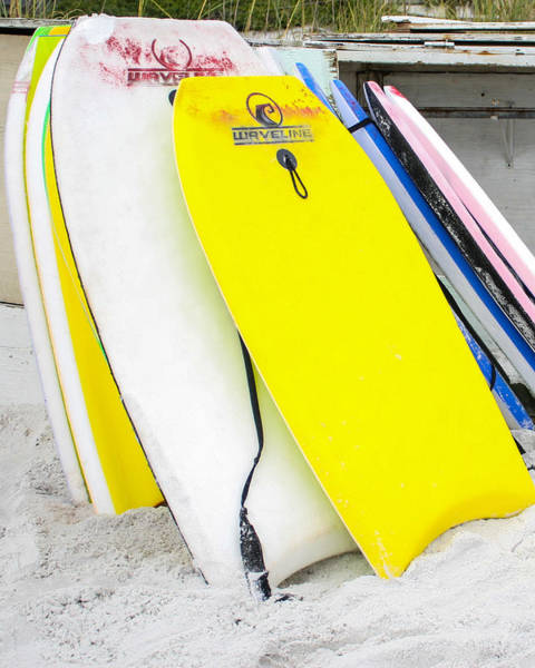 Photograph - Boogie Boards by Jeff Mize