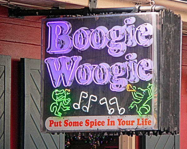 Photograph - Boogie Woogie In New Orleans by Kathy K McClellan