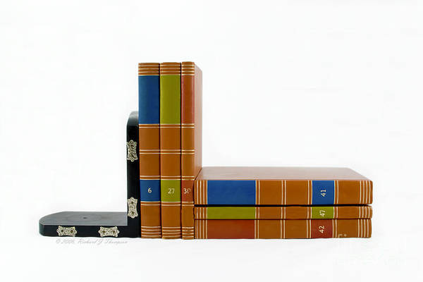 Photograph - Bookends #1 by Richard J Thompson