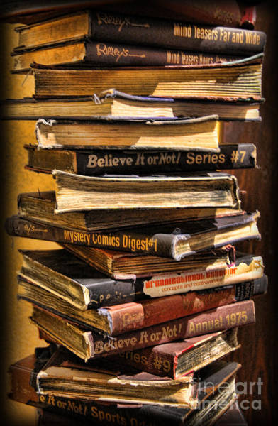 Wall Art - Photograph - Books by Lee Dos Santos