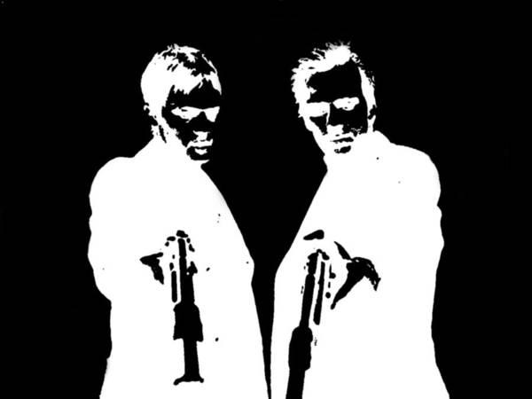 Guns Photograph - Boondock Saints by Clay Pritchard