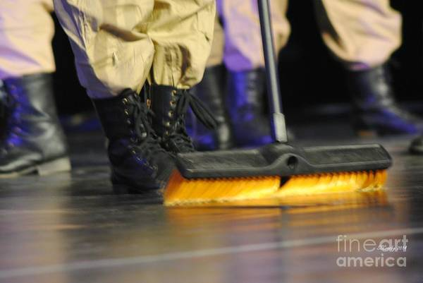 Boots And Brooms Art Print
