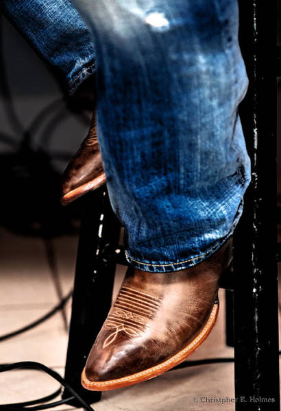 Photograph - Boots 2 by Christopher Holmes