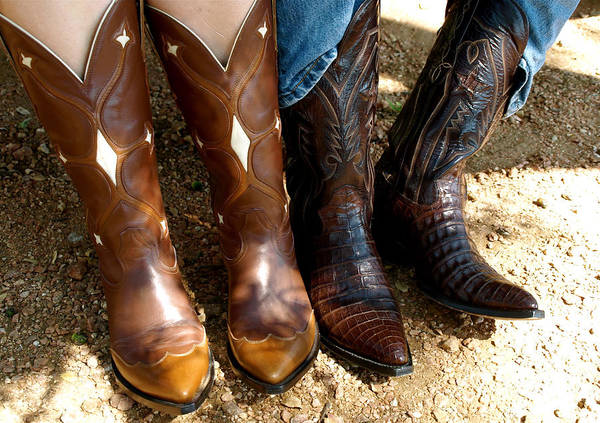 Photograph - Boots by Gia Marie Houck