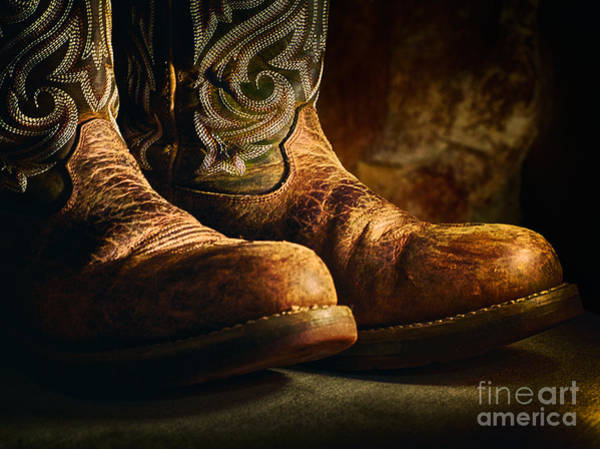 Photograph - Boots by Mark Miller