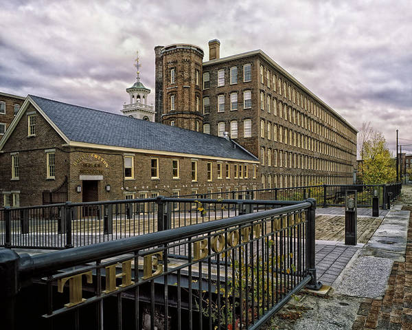 Textile Mill Photograph - Boott Cotton Mills - Lowell Massachusetts by Mountain Dreams