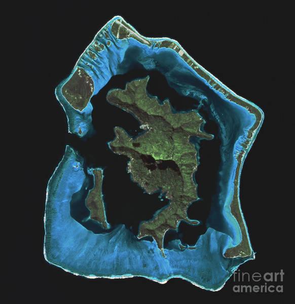 Photograph - Bora Bora by Spot Image