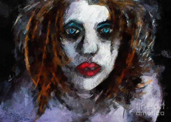 Painting - Borderline by Nicole Philippi