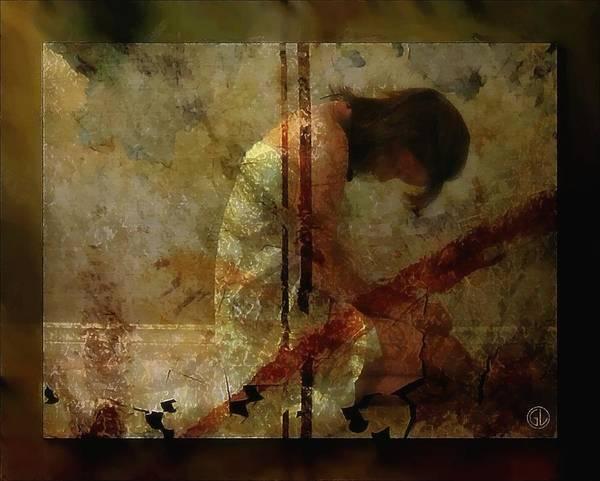 Depressed Digital Art - Borders Inside by Gun Legler
