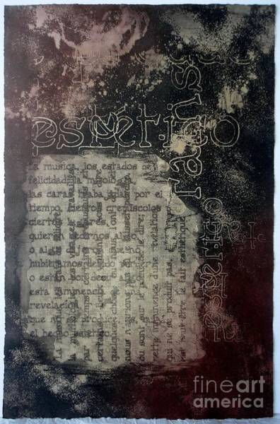 Borges 5 Art Print