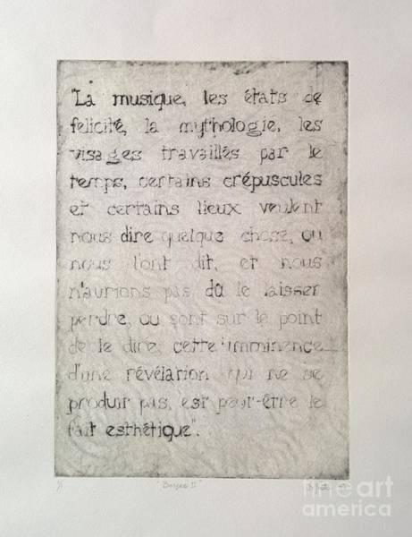 Borges 6 Art Print