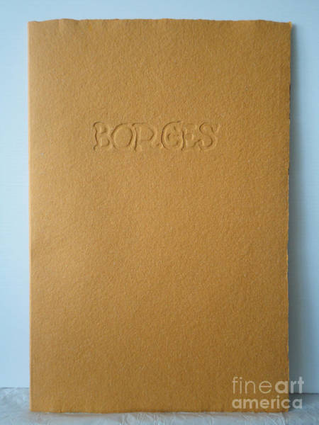 Painting - Borges Front Cover by Alessandra Di Noto