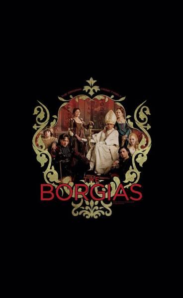 Historical Digital Art - Borgias - Family Portrait by Brand A