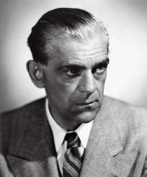 Boris Karloff Photograph - Boris Karloff by Daniel Hagerman