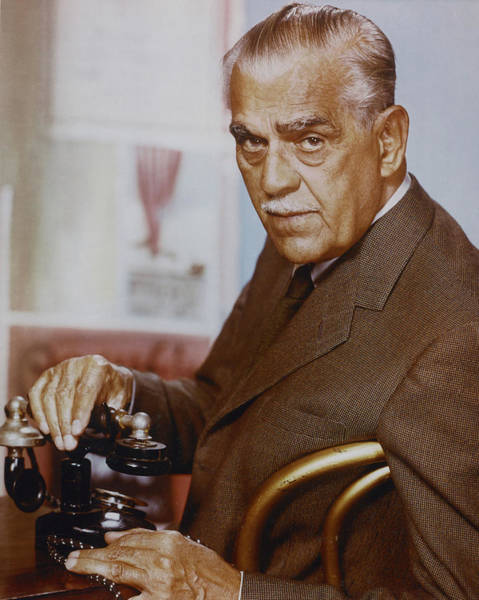 Boris Karloff Photograph - Boris Karloff In Targets  by Silver Screen