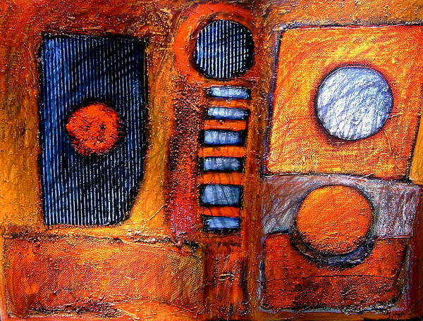 Recycled Materials Painting - Born In The Television Age by Gerry High