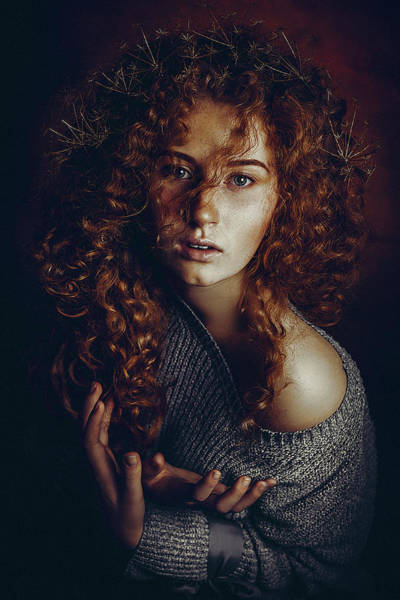 Curls Photograph - Born To Be Real by Ruslan Bolgov (axe)