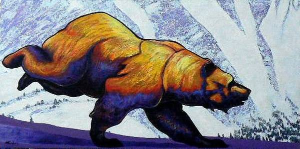 Wall Art - Painting - Born To Be Wild by Joe  Triano