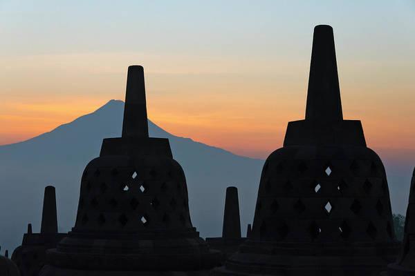 Central Asia Photograph - Borobudur At Dawn, Unesco World by Keren Su