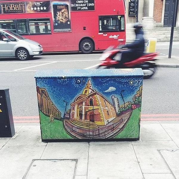 Borough Market Art #vscocam Art Print