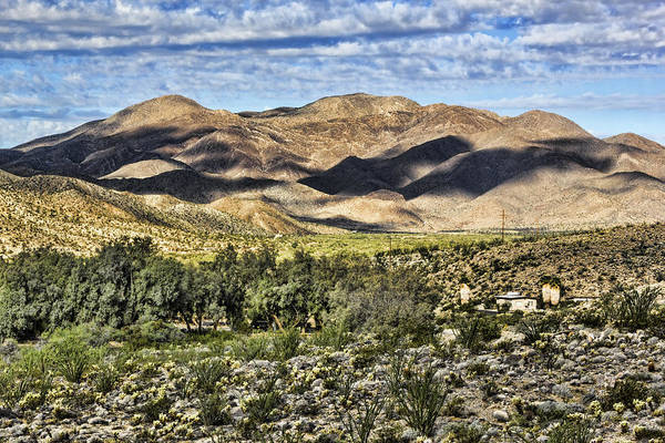 Digital Art - Borrego Springs High Desert by Photographic Art by Russel Ray Photos