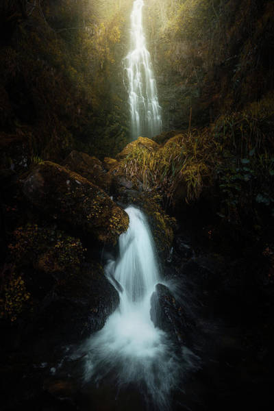 Water Fall Photograph - Boscuro 2. by Juan Pablo De