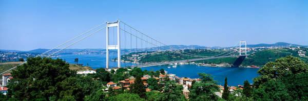 Across Photograph - Bosphorus Bridge, Istanbul, Turkey by Panoramic Images