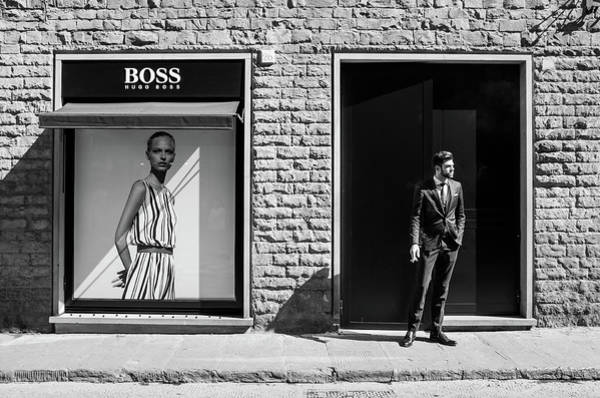 Pavement Wall Art - Photograph - Boss by Alexandru Visan